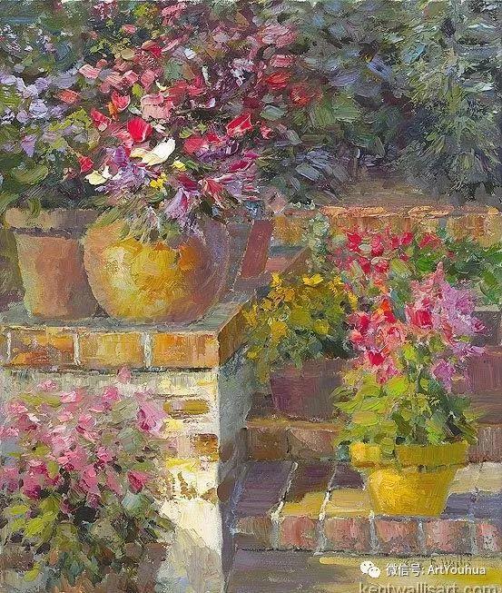 印象风景油画欣赏  美国Kent.R.Wallis作品二插图19