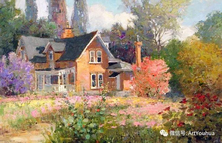 印象风景油画欣赏  美国Kent.R.Wallis作品二插图21