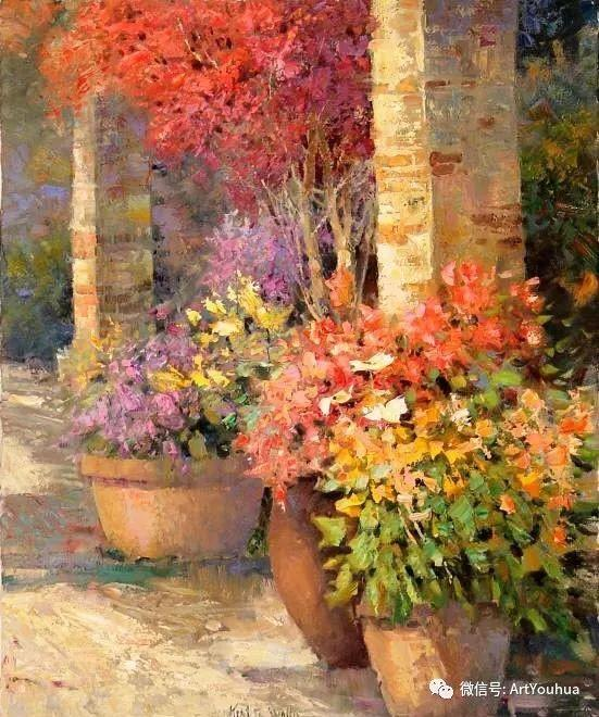 印象风景油画欣赏  美国Kent.R.Wallis作品二插图23