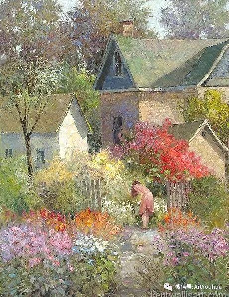 印象风景油画欣赏  美国Kent.R.Wallis作品二插图25