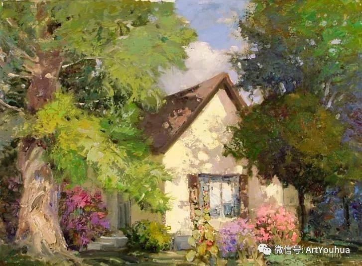 印象风景油画欣赏  美国Kent.R.Wallis作品二插图27