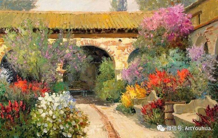 印象风景油画欣赏  美国Kent.R.Wallis作品二插图29
