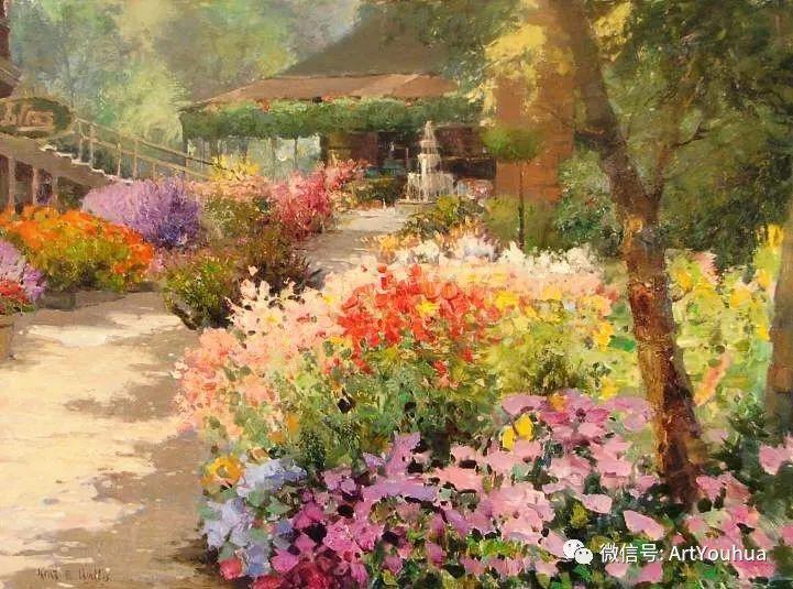 印象风景油画欣赏  美国Kent.R.Wallis作品二插图31