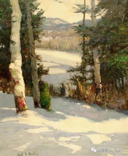 印象风景油画欣赏  美国Kent.R.Wallis作品二插图33