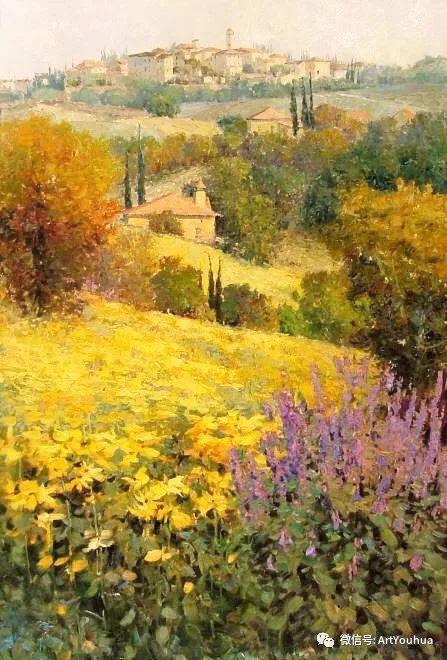 印象风景油画欣赏  美国Kent.R.Wallis作品二插图35