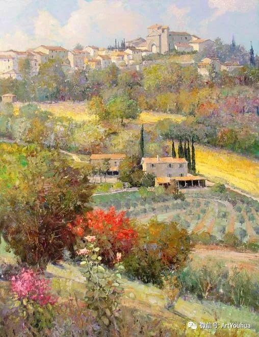 印象风景油画欣赏  美国Kent.R.Wallis作品二插图37