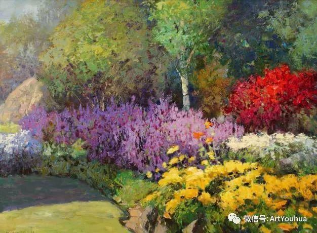 印象风景油画欣赏  美国Kent.R.Wallis作品二插图39