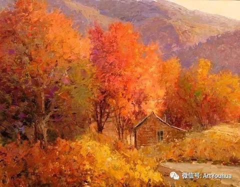 印象风景油画欣赏  美国Kent.R.Wallis作品二插图41