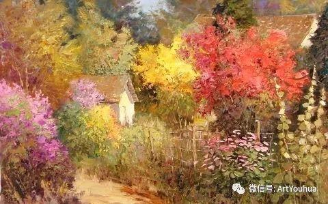 印象风景油画欣赏  美国Kent.R.Wallis作品二插图43