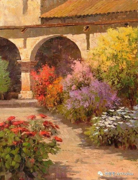 印象风景油画欣赏  美国Kent.R.Wallis作品二插图45