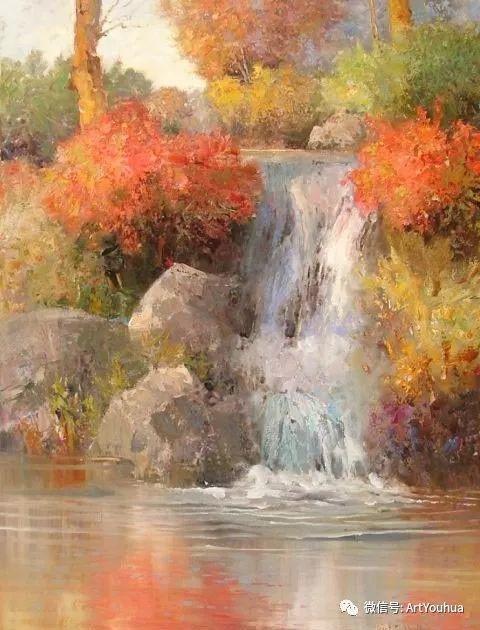 印象风景油画欣赏  美国Kent.R.Wallis作品二插图47