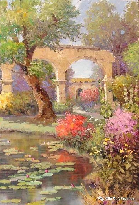 印象风景油画欣赏  美国Kent.R.Wallis作品二插图49
