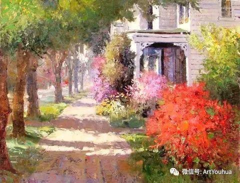 印象风景油画欣赏  美国Kent.R.Wallis作品二插图51
