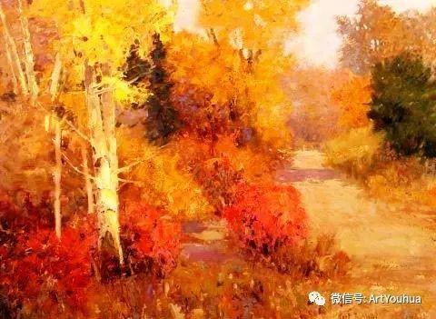 印象风景油画欣赏  美国Kent.R.Wallis作品二插图53