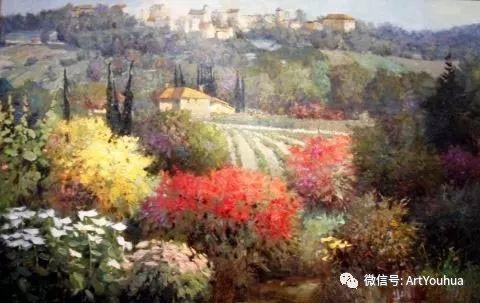 印象风景油画欣赏  美国Kent.R.Wallis作品二插图55