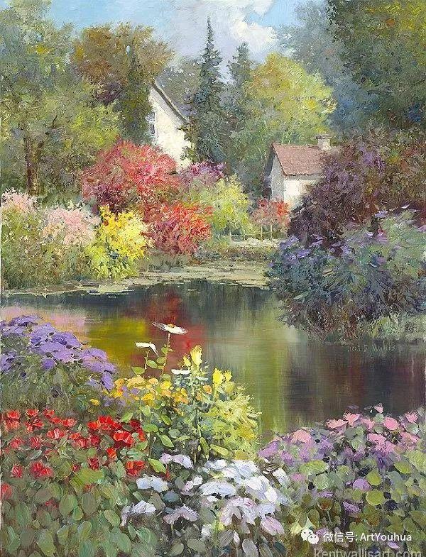 印象风景油画欣赏  美国Kent.R.Wallis作品二插图57