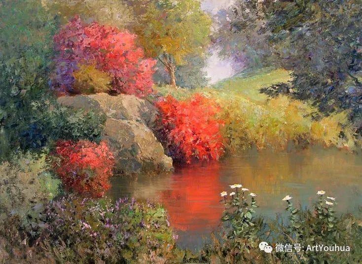 印象风景油画欣赏  美国Kent.R.Wallis作品二插图59