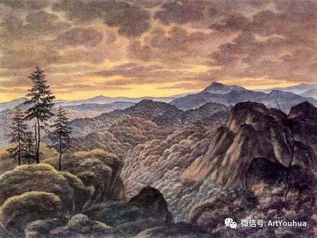风景人物油画 德国Karl Friedrich Lessing作品插图13