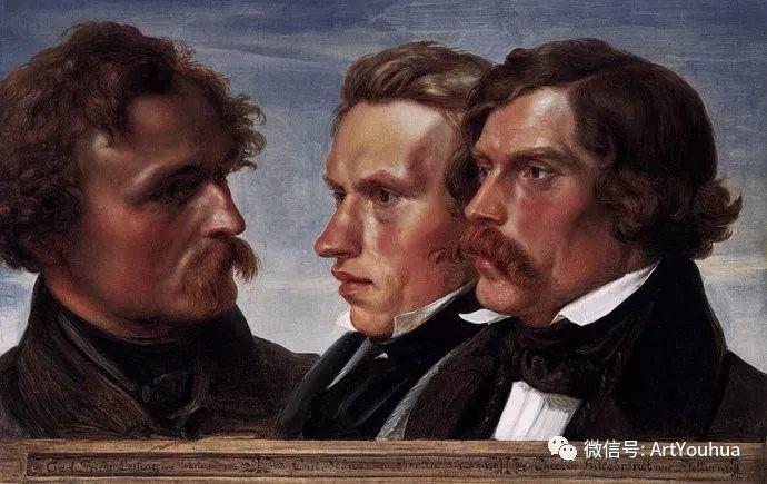 风景人物油画 德国Karl Friedrich Lessing作品插图37