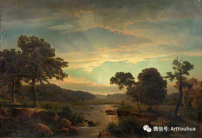 风景人物油画 德国Karl Friedrich Lessing作品插图57