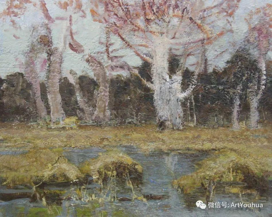 中俄艺术家50年代后期油画即景小品展作品插图3