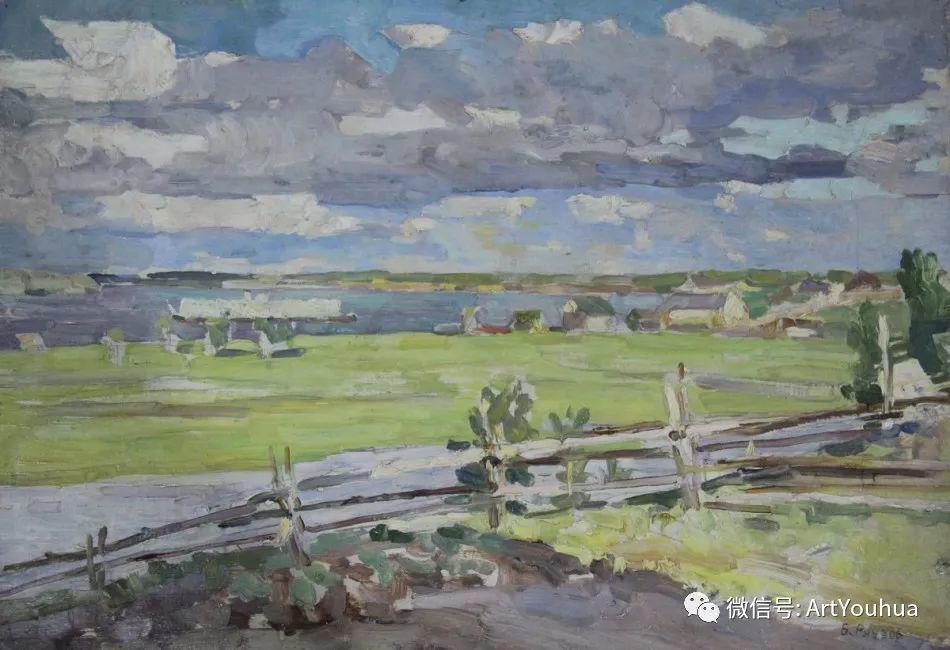 中俄艺术家50年代后期油画即景小品展作品插图5