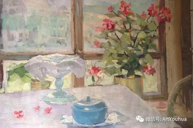 中俄艺术家50年代后期油画即景小品展作品插图7