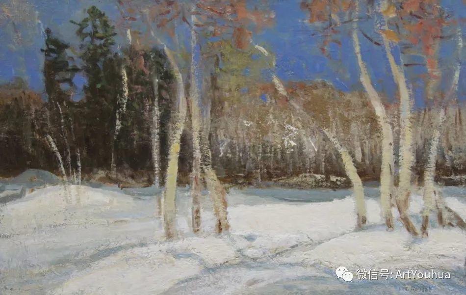中俄艺术家50年代后期油画即景小品展作品插图9