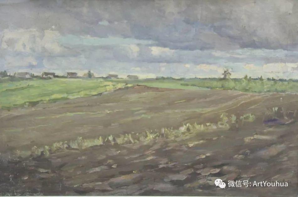中俄艺术家50年代后期油画即景小品展作品插图13