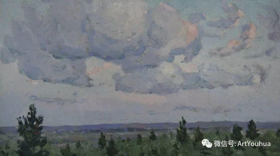 中俄艺术家50年代后期油画即景小品展作品插图17
