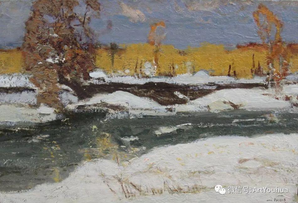 中俄艺术家50年代后期油画即景小品展作品插图19