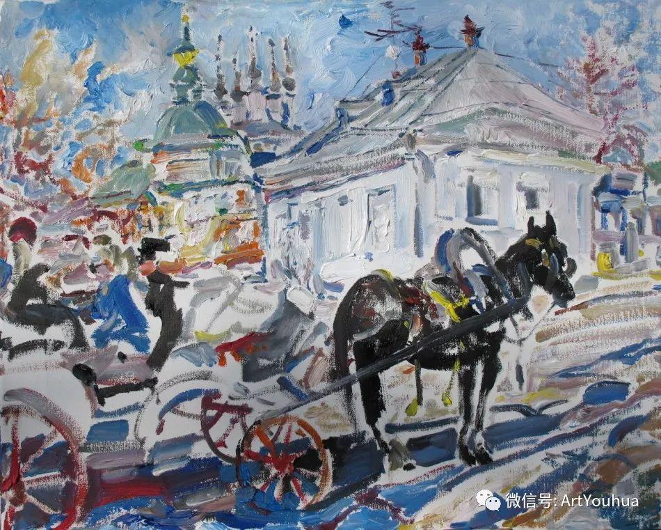 中俄艺术家50年代后期油画即景小品展作品插图53
