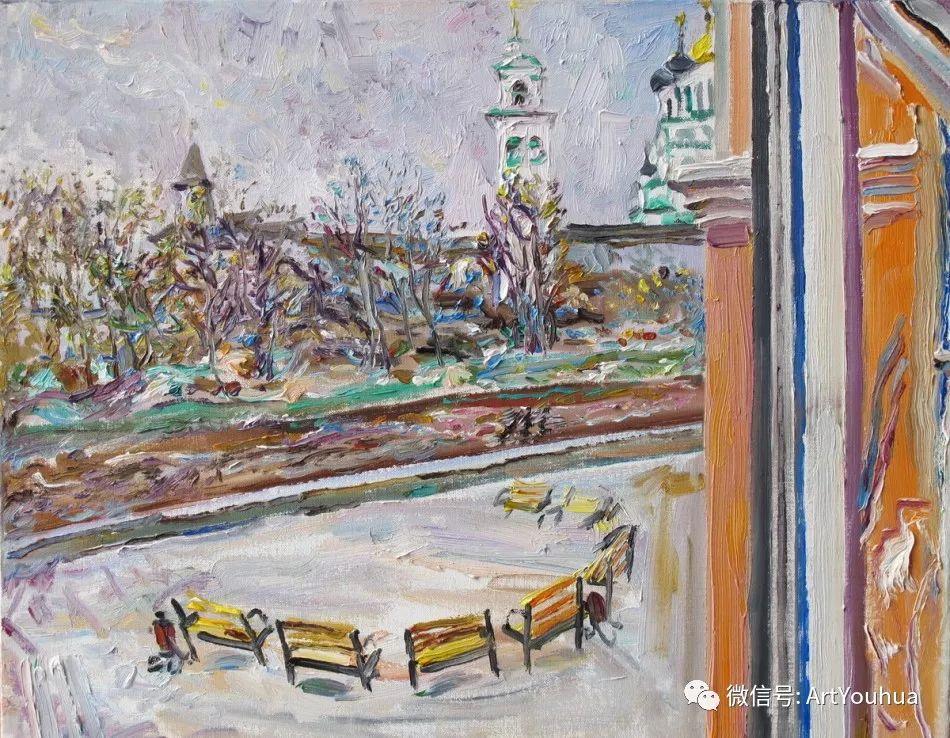 中俄艺术家50年代后期油画即景小品展作品插图57