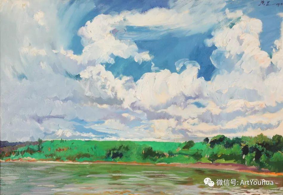 中俄艺术家50年代后期油画即景小品展作品插图61