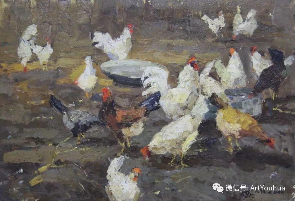 中俄艺术家50年代后期油画即景小品展作品插图73