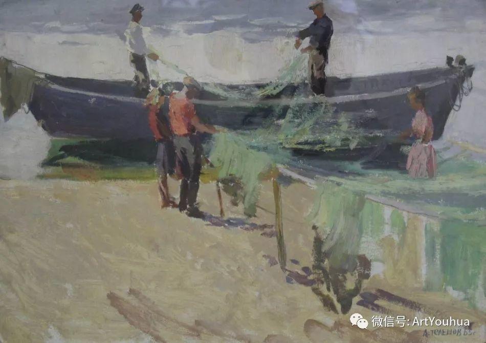 中俄艺术家50年代后期油画即景小品展作品插图75