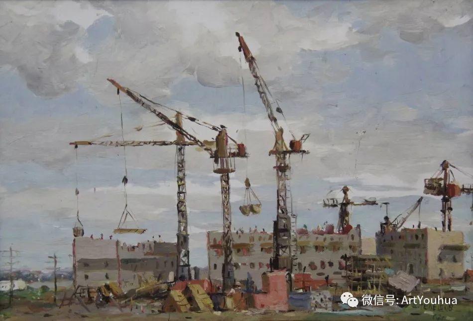 中俄艺术家50年代后期油画即景小品展作品插图81