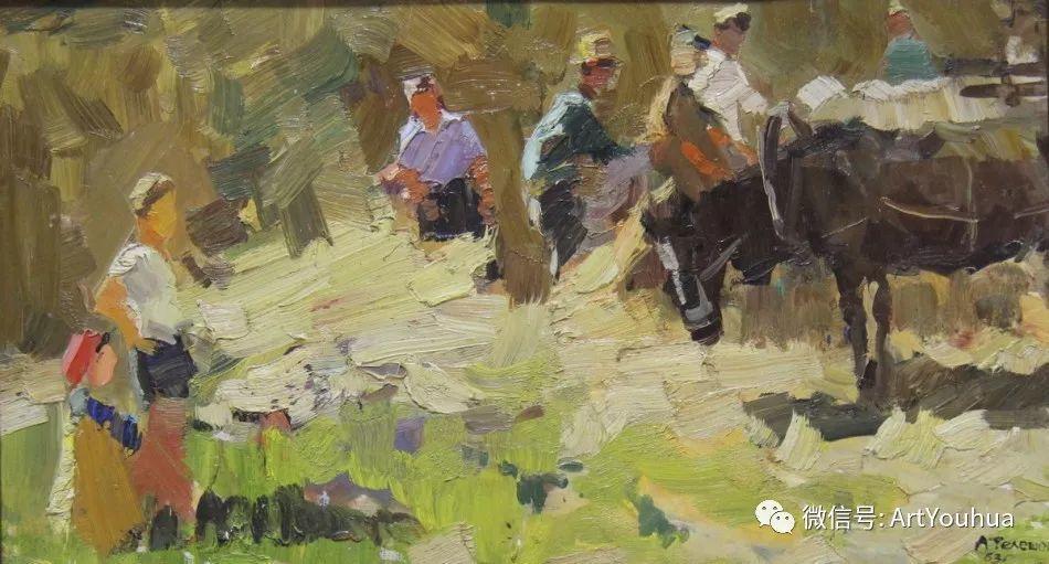 中俄艺术家50年代后期油画即景小品展作品插图85