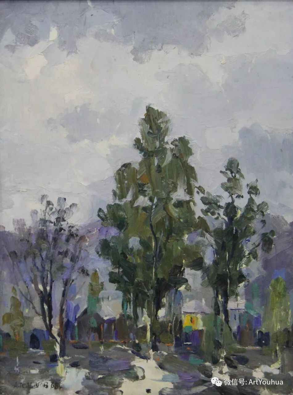 中俄艺术家50年代后期油画即景小品展作品插图87