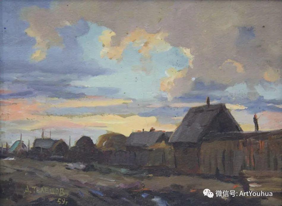 中俄艺术家50年代后期油画即景小品展作品插图89