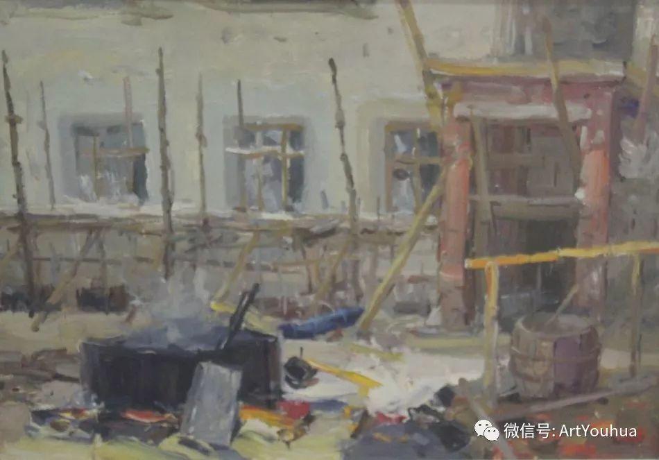 中俄艺术家50年代后期油画即景小品展作品插图93