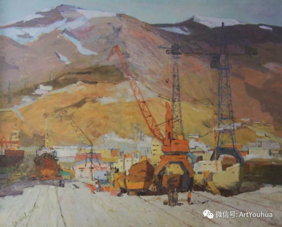 中俄艺术家50年代后期油画即景小品展作品插图95
