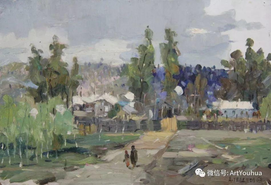 中俄艺术家50年代后期油画即景小品展作品插图99