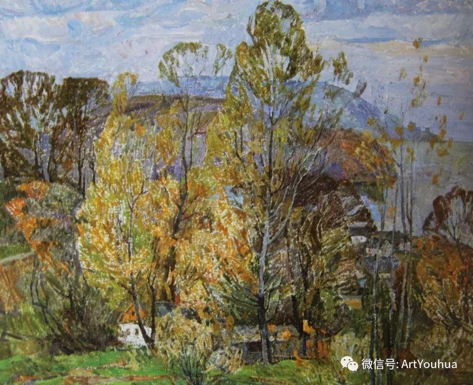 中俄艺术家50年代后期油画即景小品展作品插图101