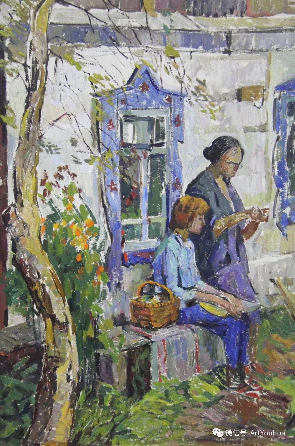 中俄艺术家50年代后期油画即景小品展作品插图103
