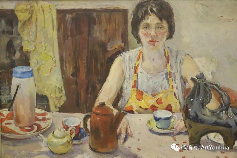 中俄艺术家50年代后期油画即景小品展作品插图121