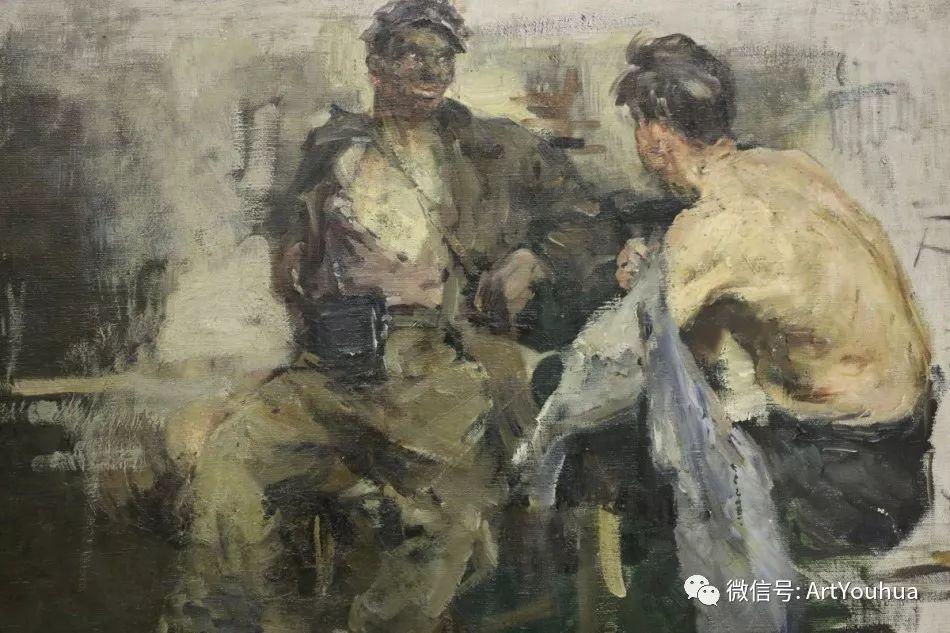 中俄艺术家50年代后期油画即景小品展作品插图123