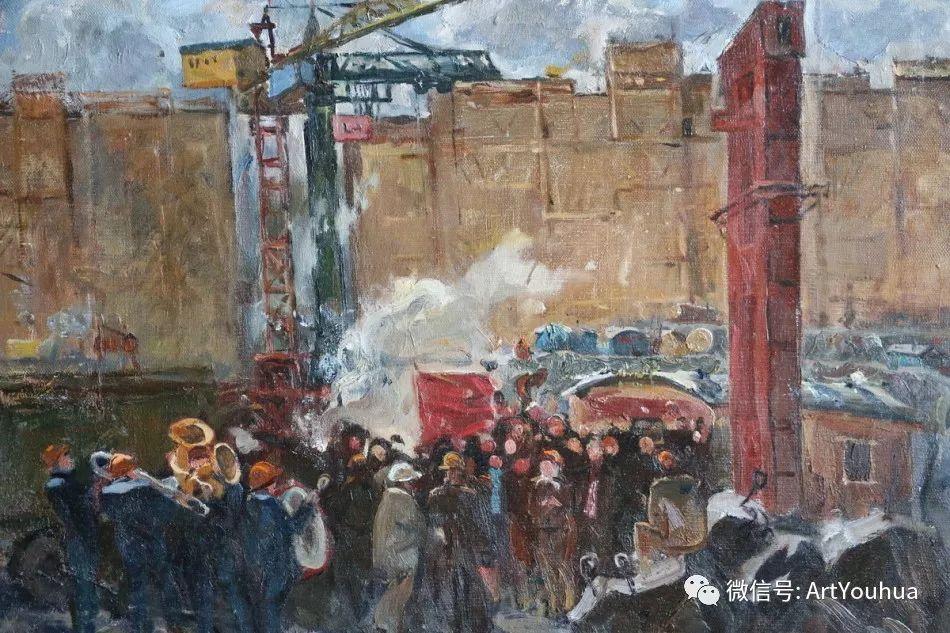 中俄艺术家50年代后期油画即景小品展作品插图145