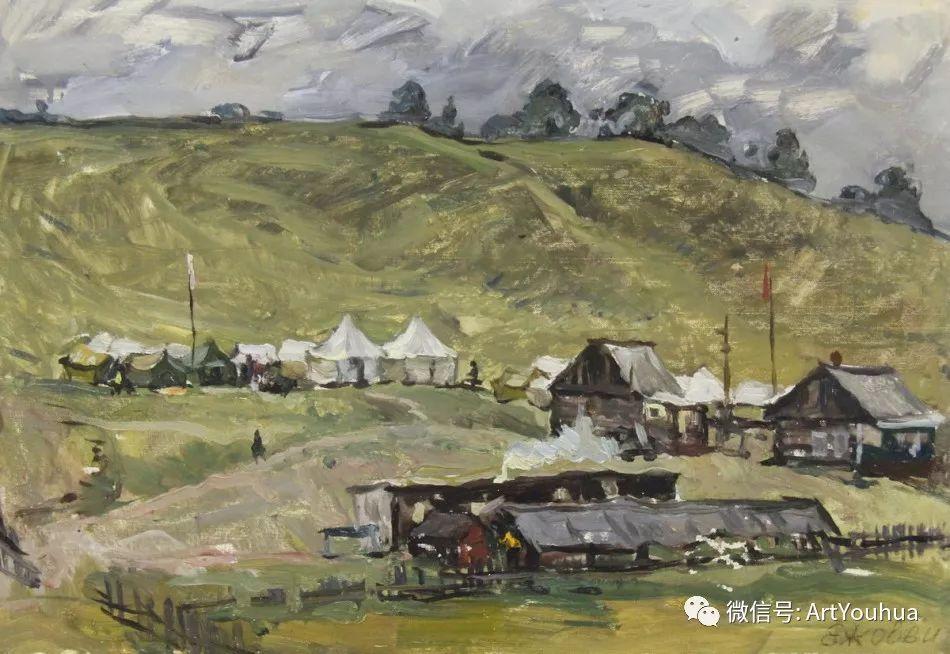 中俄艺术家50年代后期油画即景小品展作品插图149