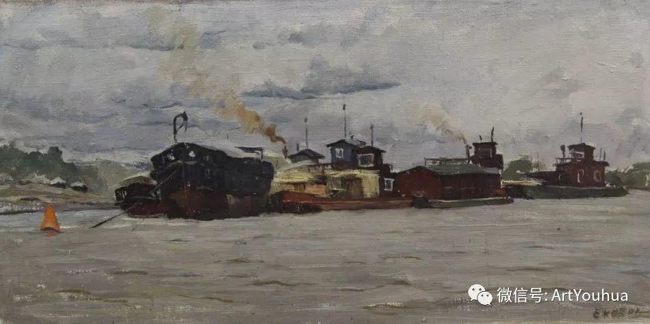 中俄艺术家50年代后期油画即景小品展作品插图151